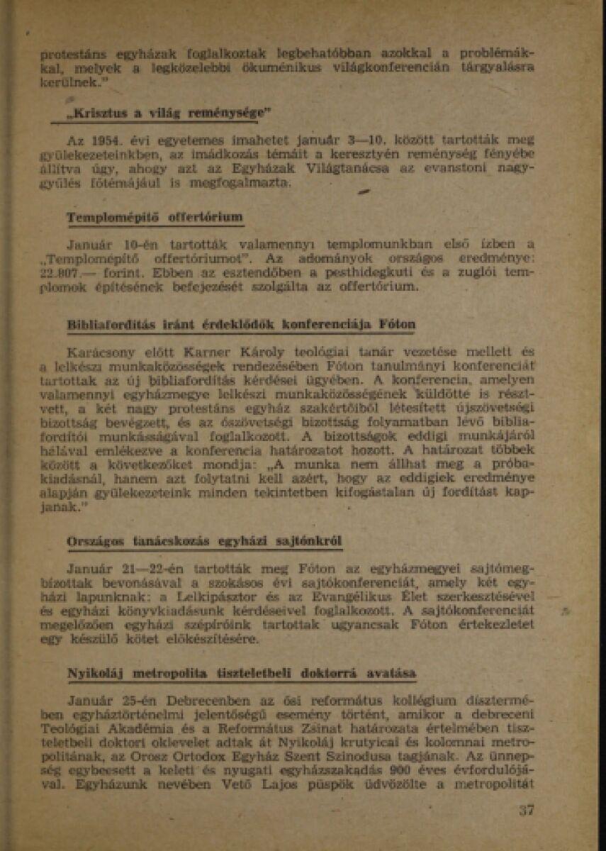 1955 évi naptár Magyar Evangélikus Digitális Tár (MEDiT)   Konyv Site 1955 évi naptár